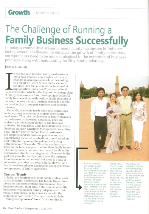 Running a Family Business Successfully